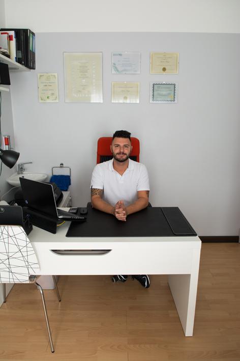 Andrea Bazzi personal trainer, tecnico postulare e osteopata a Lazzate (Monza Brianza)